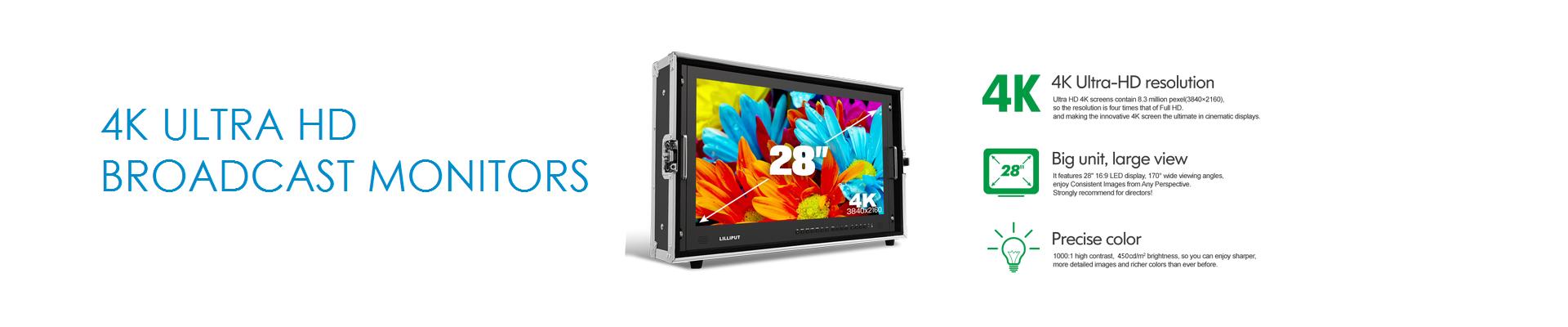 4K Broadcast Monitor