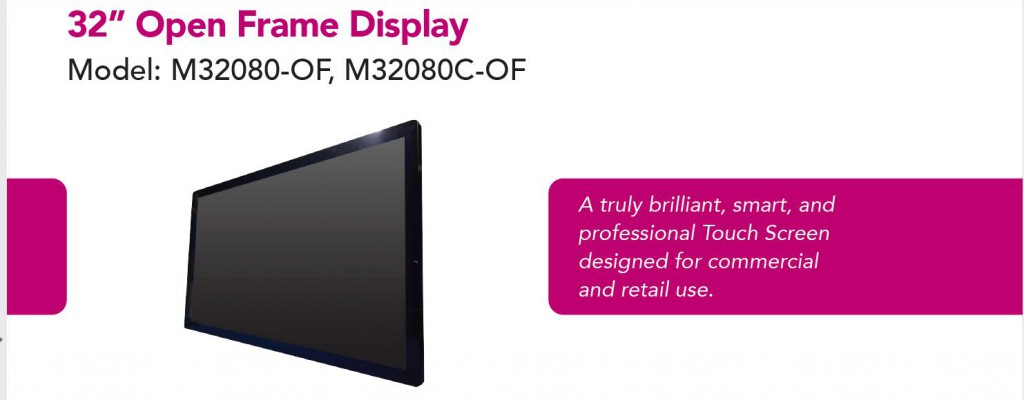 Open Frame Display