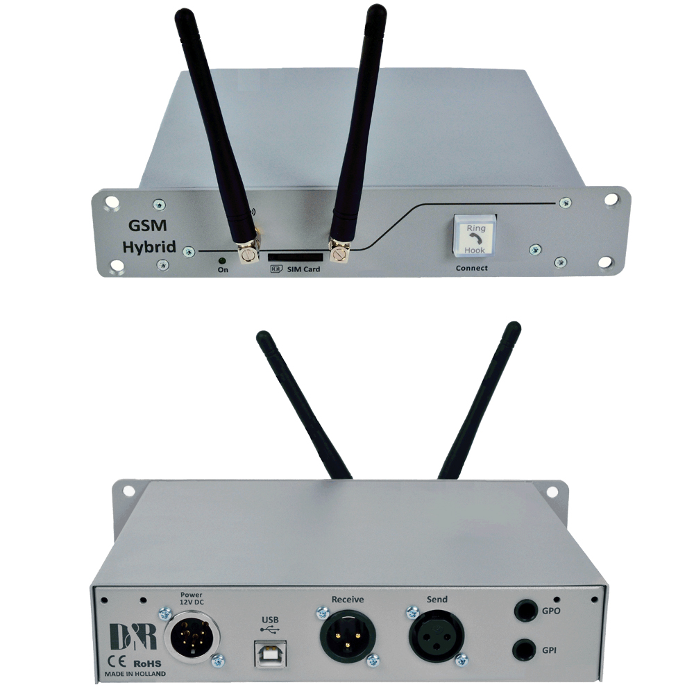 D&R GSM Hybrid you can add a simple and effective wireless interface that your reporters can call.