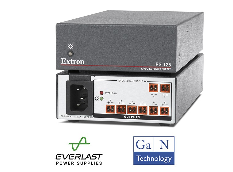 Simplify Your Rack Designs with Our New 8 Output, 60-Watt Power Supply