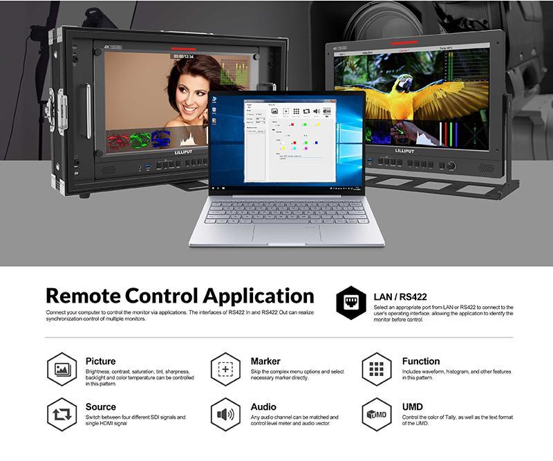 15.6 inch broadcast production studio monitor