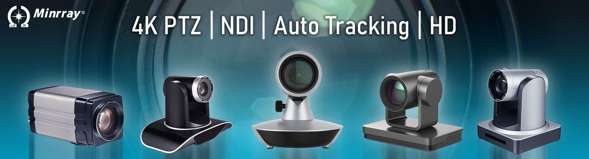 ndi ptz hd 4k video conference Camera