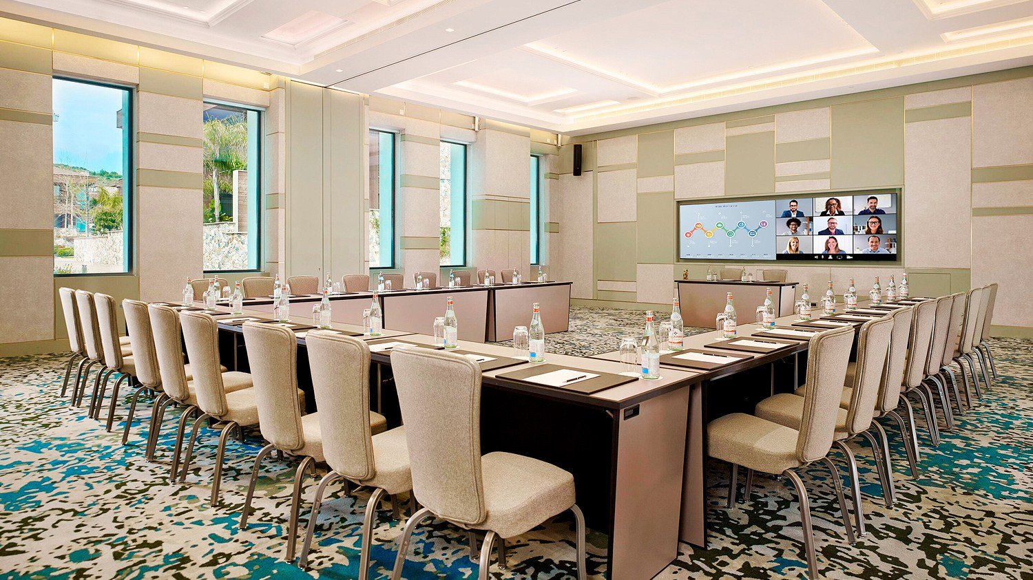Control Harmonizes with the Luxury at a World Class Resort