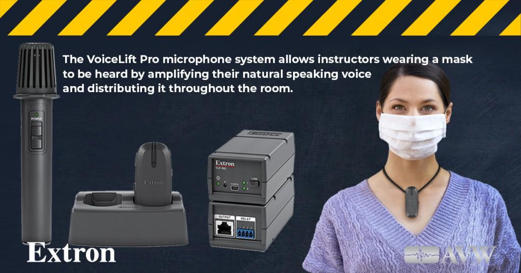 Voice lift Pro Micophone ad